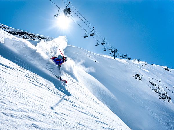 location de chalet à la rosière ski freeride