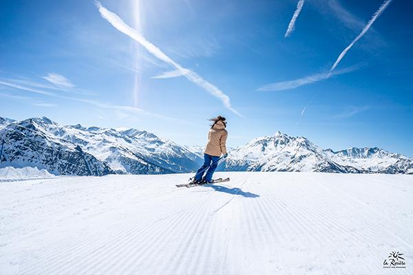 location de chalet à la rosière ski